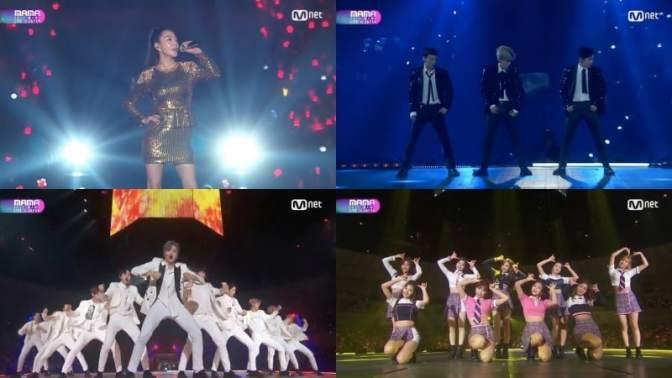 Presentaciones de los 2017 Mnet Asian Music Awards (MAMA) en Japón