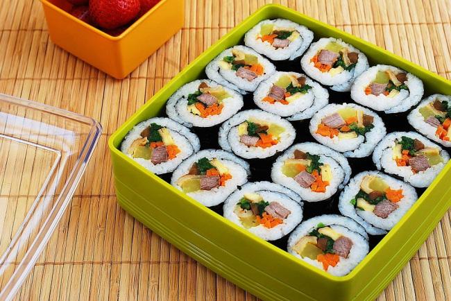 Cocina Gimbap [Comida Coreana]