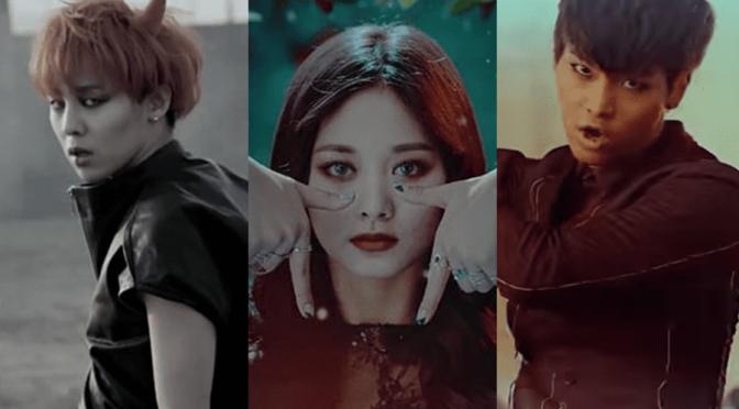 disfraces de Halloween inspirados en videos musicales K-Pop