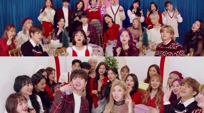 """Hello Venus, ASTRO y Weki Meki cantan """"All I Want"""" en el MV navideño de Fantagio"""